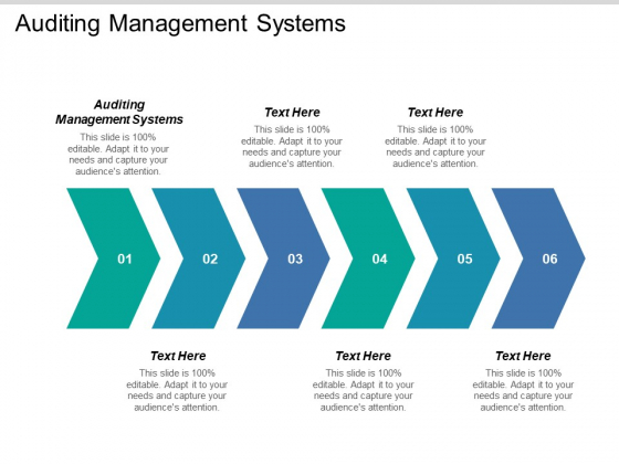Auditing Management Systems Ppt PowerPoint Presentation Infographic Template Clipart Cpb