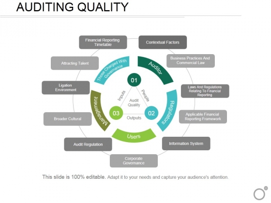 Auditing Quality Ppt Powerpoint Presentation Infographic