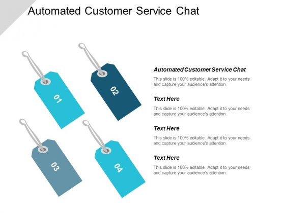 Automated Customer Service Chat Ppt Powerpoint Presentation File Elements Cpb