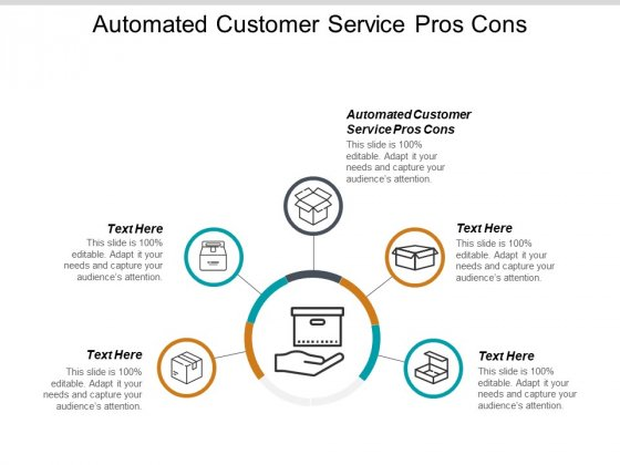Automated Customer Service Pros Cons Ppt PowerPoint Presentation Pictures Graphics Cpb