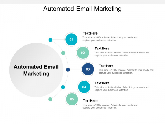 Automated Email Marketing Ppt PowerPoint Presentation Model Graphics