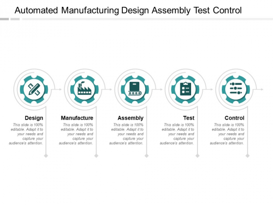 Automated Manufacturing Design Assembly Test Control Ppt PowerPoint Presentation Infographic Template Clipart Images