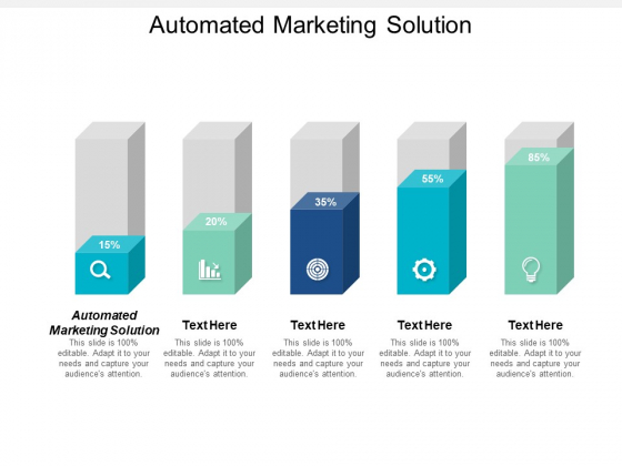 Automated Marketing Solution Ppt PowerPoint Presentation Styles Icon Cpb