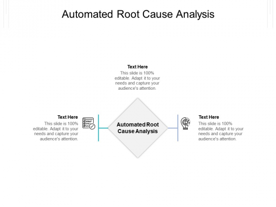 Automated Root Cause Analysis Ppt PowerPoint Presentation Portfolio Example File Cpb Pdf