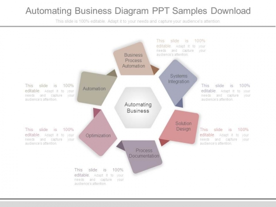 Automating Business Diagram Ppt Samples Download