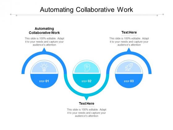 Automating Collaborative Work Ppt PowerPoint Presentation Portfolio Template Cpb