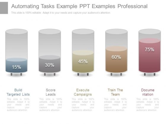 Automating Tasks Example Ppt Examples Professional