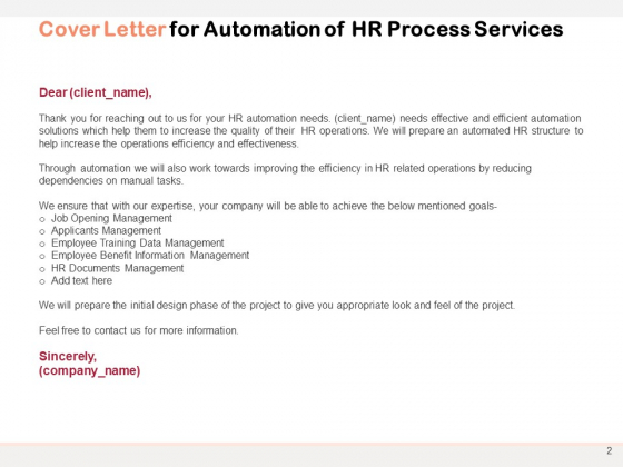 Automation_Proposal_To_Transform_HR_Processes_Ppt_PowerPoint_Presentation_Complete_Deck_With_Slides_Slide_2