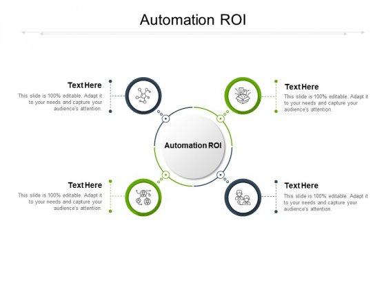 Automation ROI Ppt PowerPoint Presentation Visual Aids Styles Cpb