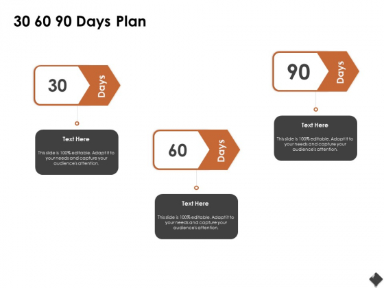 Automation Techniques And Solutions For Business 30 60 90 Days Plan Ppt Slides Maker PDF