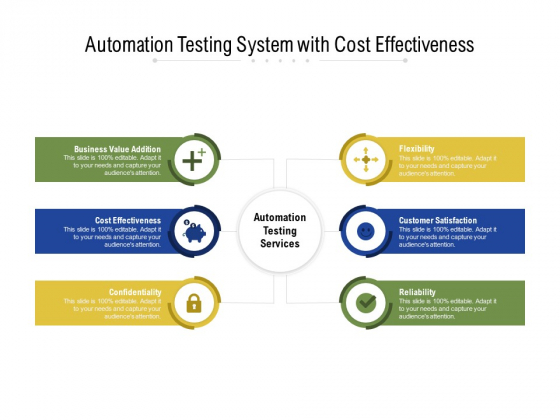 Automation Testing System With Cost Effectiveness Ppt PowerPoint Presentation File Background PDF