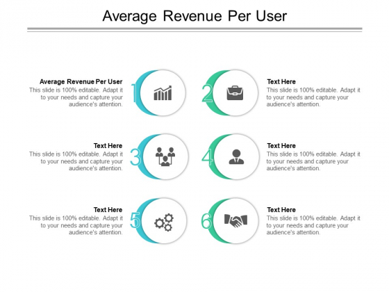 Average Revenue Per User Ppt PowerPoint Presentation Styles Ideas Cpb Pdf