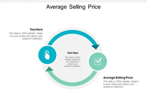 Average Selling Price Ppt PowerPoint Presentation Portfolio Example Cpb