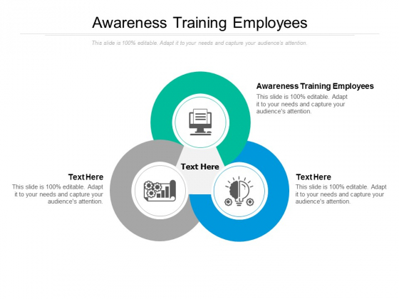 Awareness Training Employees Ppt PowerPoint Presentation Gallery Infographics Cpb