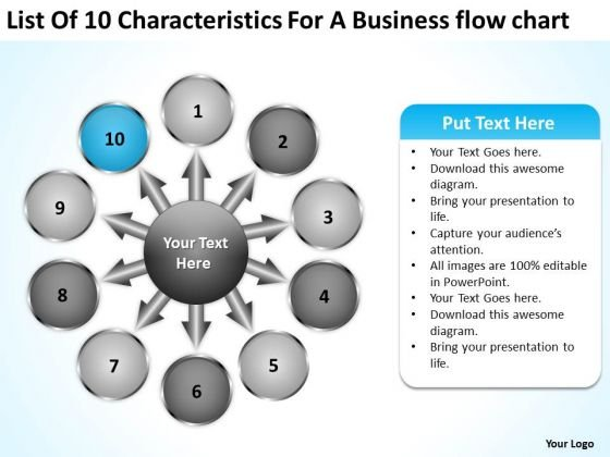 A Business PowerPoint Templates Download Flow Chart Ppt Cycle Arrow Diagram Slides