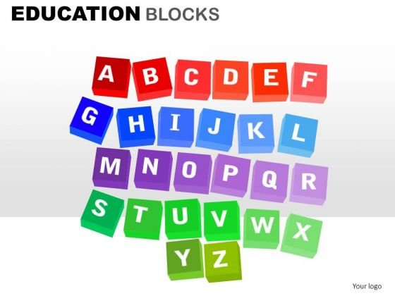 A To Z Scrabble Letters PowerPoint Clipart Graphics Slides
