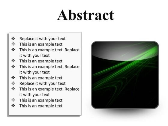 Abstract Background PowerPoint Presentation Slides S