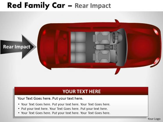 Activity Red Family Car PowerPoint Slides And Ppt Diagram Templates