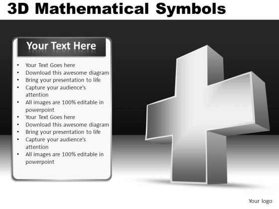 Addition Mathematical Symbols Ppt