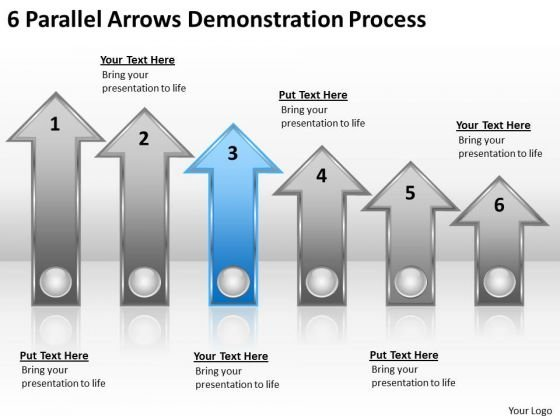 Advantage Of Parallel Processing 6 Arrows Demonstration PowerPoint Slide