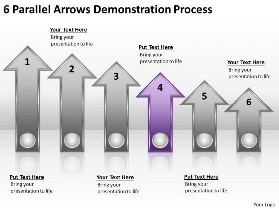Advantage Of Parallel Processing 6 Arrows Demonstration PowerPoint Slides