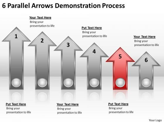 Advantage Of Parallel Processing 6 Arrows Demonstration Ppt PowerPoint Slide