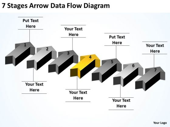 advantage_of_parallel_processing_7_stages_arrow_data_flow_diagram_powerpoint_slides_1
