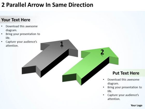 Advantage Of Parallel Processing Same Direction Ppt PowerPoint Templates Backgrounds For Slides