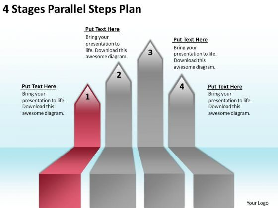 Advantage Of Parallel Processing Steps Plan PowerPoint Templates Backgrounds For Slides