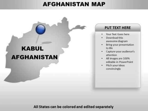 Afghanistan Country PowerPoint Maps