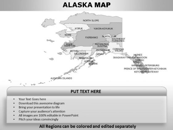 Alaska PowerPoint Maps