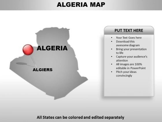Algeria Country PowerPoint Maps