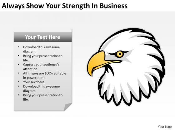 Always Show Your Strength In Business Ppt Development Plans PowerPoint Templates