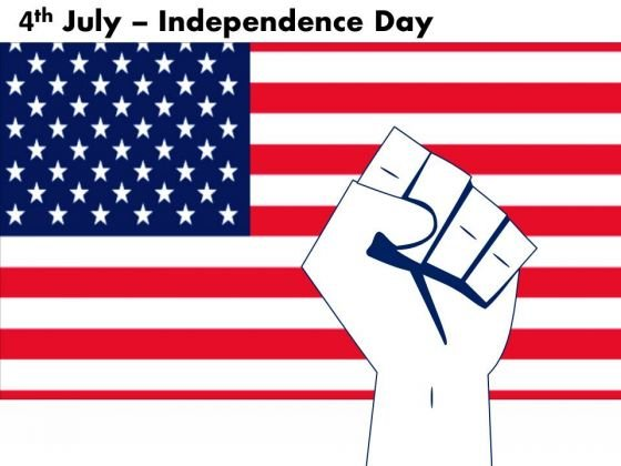 American Workers Independence Day PowerPoint Templates