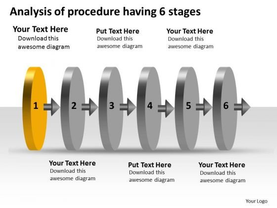 Analysis Of Procedure Having 6 Stages Production Plan Company PowerPoint Slides