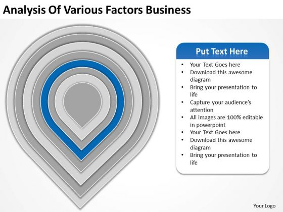 Analysis Of Various Factors Business Ppt Plan PowerPoint Slide