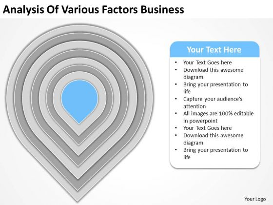 Analysis Of Various Factors Business Ppt Plan PowerPoint Slides