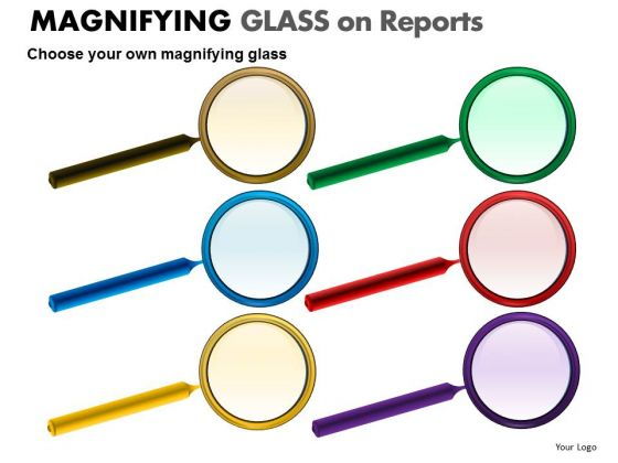 Analyze Magnifying Glass PowerPoint Slides And Ppt Diagram Templates