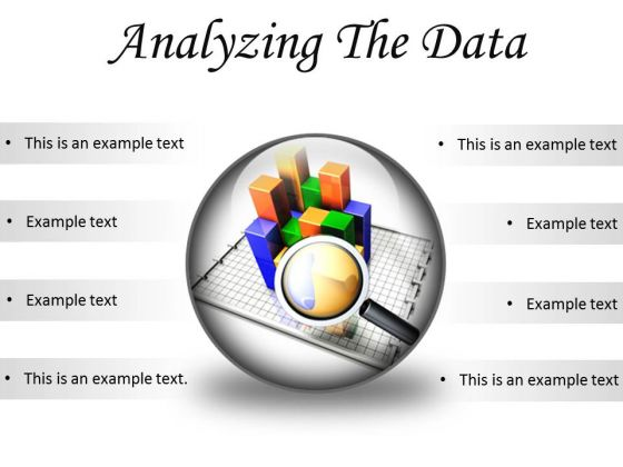 Analyzing The Data Business PowerPoint Presentation Slides C