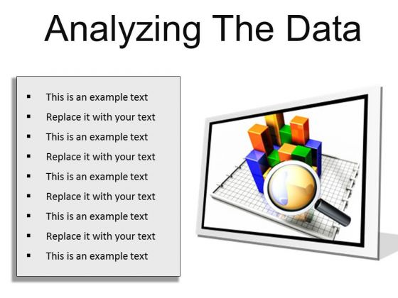 Analyzing The Data Business PowerPoint Presentation Slides F