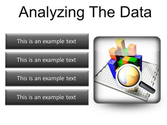 Analyzing The Data Business PowerPoint Presentation Slides S
