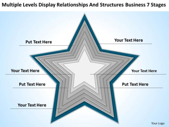 And Structures Business 7 Stages Ppt How To Write Plans PowerPoint Slides