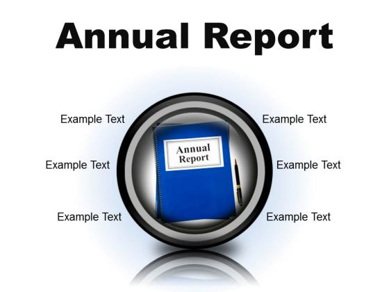 Annual Report Business PowerPoint Presentation Slides Cc