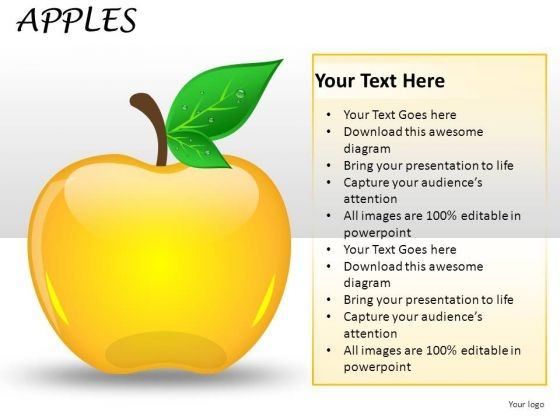 Apple A Day PowerPoint Slides And Ppt Diagram Templates