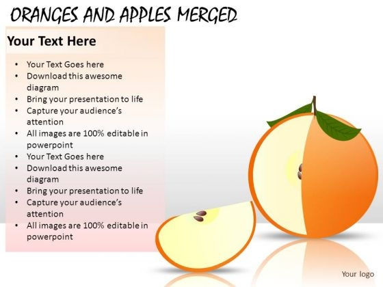 Apple Slice Piece PowerPoint Slides And Ppt Diagram Templates