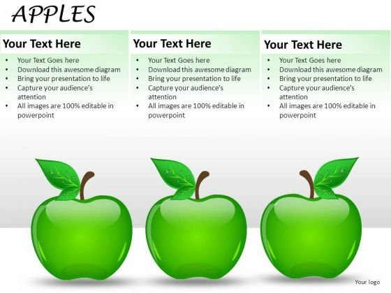 Apples List PowerPoint Slides And Ppt Diagrams Templates