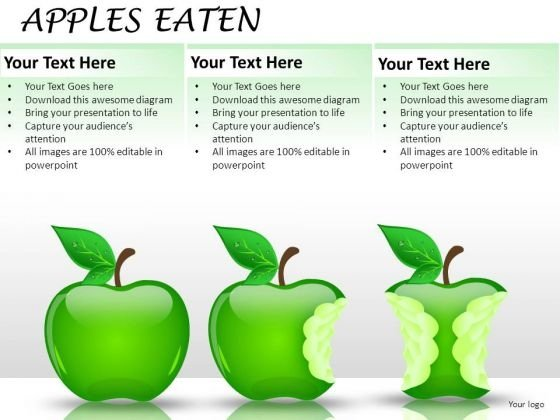 Apples Representing Market Share PowerPoint Slides And Ppt Diagram Templates