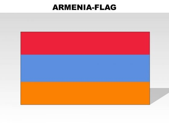 Armenia Country PowerPoint Flags