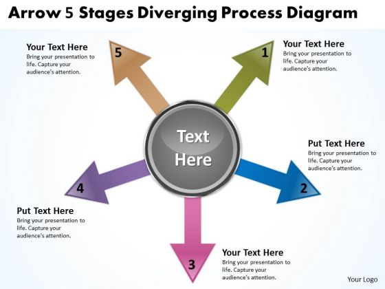 Arrow Diverging 12 Steps With Globe Flow Chart Ppt Cycle Diagram PowerPoint Slides