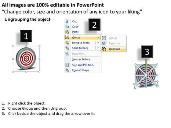 arrow_pointing_2012_to_2015_technology_target_powerpoint_templates_ppt_slides_graphics_2